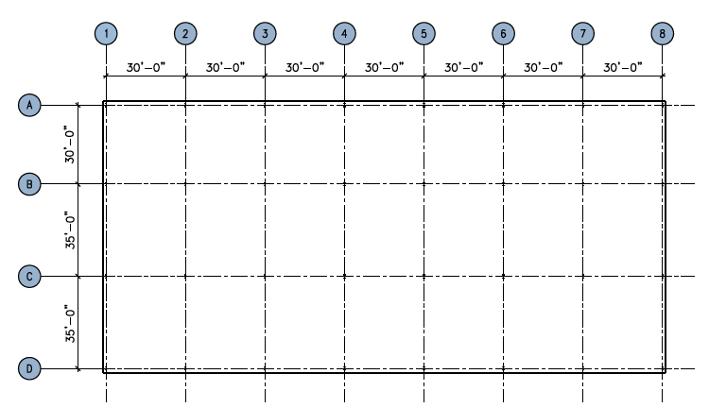 Figure showing structural arrangement of a generic 'standard' floor plate